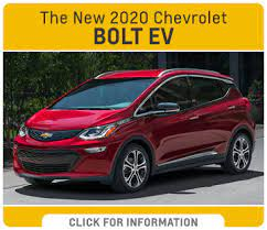 The 2020 Chevrolet Model Lineup Model Features Trim Level Info