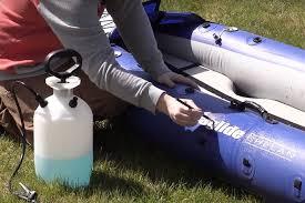 inflatable kayak repair steps
