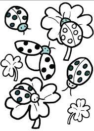 Lady Bug Coloring Sheet Color Sheet Massageokc Club