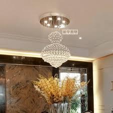 get ations 80 120 cm modern crystal chandelier lamp living room stairs restaurant chandelier crystal lamp chandelier