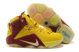 lebron shoes 12 elite. cheap nike lebron 12 cleveland cavaliers yellow red brown basketball sneaker on sale lebron shoes elite