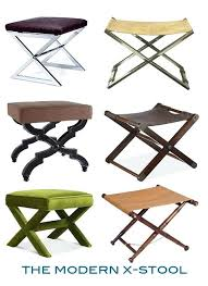 leather sling stool past present the counter stools leather sling stool