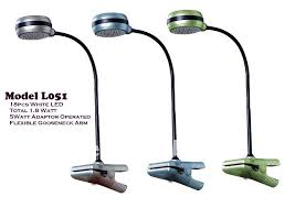 l051 12v led clip desk table lamp