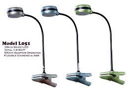 l051 12v led clip desk table lamp