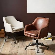 leather office. helvetica leather office chair a