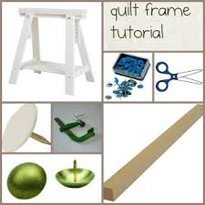 Celebrate Hand Quilting: DIY a (inexpensive) home hand quilting ... & Celebrate Hand Quilting: DIY a (inexpensive) home hand quilting floor frame. Adamdwight.com