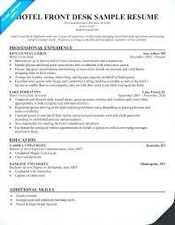 front desk agent resume sample front desk agent resume emelcotest com