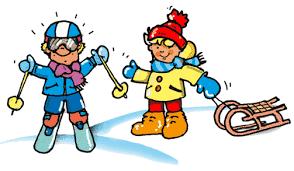 Znalezione obrazy dla zapytania zabawy zimą