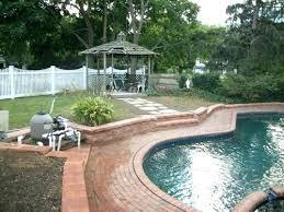 pool patio ideas. Pool Patio Ideas Pinterest Red Brick Retaining Wall Design Bric