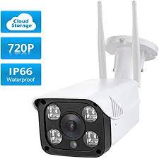 Fuers Bullet CAM HD 720P Outdoor Security Camera ... - Amazon.com