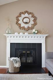 tile fireplace surround design pictures fantastic painted fireplace tiles worth a try instead of replacing with black
