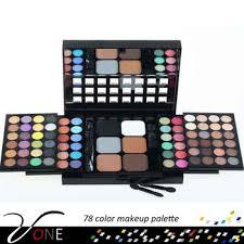 makeup kit for teenagers. 78 warna wajah makeup kit untuk anak perempuan portabel eyeshadow palet bedak perona pipi kompak for teenagers