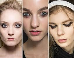 fall winter 2016 2016 makeup trends morning after makeup