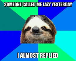 FunniestMemes.com - Funniest Memes - [Someone Called Me Lazy ... via Relatably.com