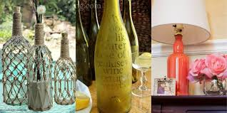 Decorative Liquor Bottles 60 DIY Crafts You Can Make Using Empty Spirit Bottles Cool Ideas 47