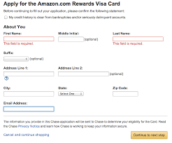 Please click the button to ensure you receive the above offer. How To Apply For The Chase Amazon Credit Card