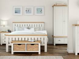 country white bedroom furniture. Jones And Tomlin Country Oak Bedroom Furniture - Lily Painted White O