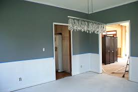 chair rail ideas spectacular dining room paint colors with chair rail on simple interior decor home