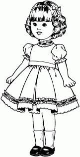 Small Picture Doll Free Printable Coloring Pages
