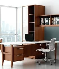 home office modern home. White Modern Office Furniture Retro Wood Private Desk  Home