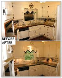 painting kitchen cabinets before and after luxury painting laminate kitchen cabinets before and after