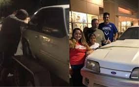 kids back dad s 1993 ford mustang that he sold when his wife was diagnosed with cancer
