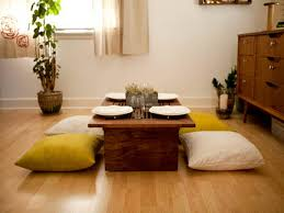 Japanese Floor Dining Table