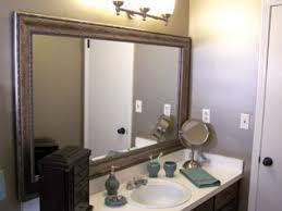 framed bathroom mirrors diy.  Mirrors DoitYourself Mirror Frames In Framed Bathroom Mirrors Diy