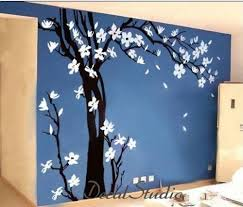Large blossom tree -Vinyl Wall Decal Living room Art