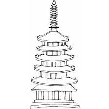 Small Picture Temple Coloring Sheet