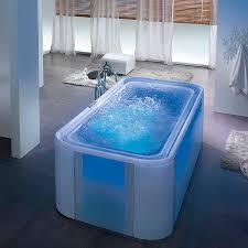 freestanding bathtub acrylic glass whirlpool