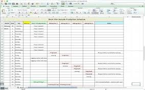 Production Scheduling In Excel Screen Hi Offers A Free And Film Production Schedule For