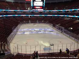 Honda Center View From Club Level 314 Vivid Seats