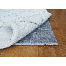home interior survival 8x11 rug pad 8 x 11 padding grippers rugs the home depot