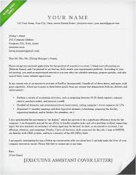 executive assistant cover letters 15 cover letter examples for administrative assistants