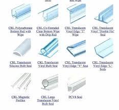 frameless shower door seal what type of seal needs replacing on your shower door 1 2