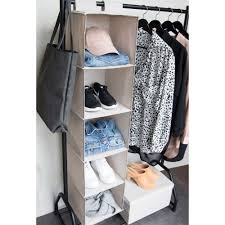 hanging closet shelves organiser bigso