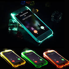 Iphone X Led Light Case Us 0 74 18 Off Led Flash Light Up Remind Incoming Call Case For Iphone X 5 5s Se 6 6s 7 8 Plus Cover Antiknock Soft Tpu Phone Back Cases Fundas In