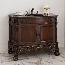 Dark Bathroom Vanity 47 Ball And Claw Sink Chest Dark Bathroom Vanity 08101 110 328