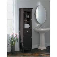 Delighful Bathroom Storage Furniture Cabinet Espresso Fieldcrest A Intended Concept Ideas