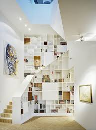 creative storage solutions. creative storage solutions under the stairs a perfect bookcase l