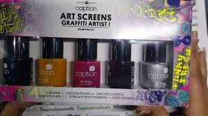 Its Haul Time- Stamping sets by Captions Young Nails - YouTube