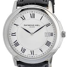 raymond weil men s 54661 stc 00300 quartz stainless steel white raymond weil men s 54661 stc 00300 quartz stainless steel white dial watch top men