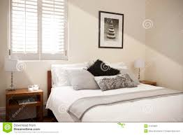 Light Bedroom Bedroom Bed Interior Light Royalty Free Stock Photo Image 21676805