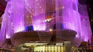 million dollar chandelier bar and starbucks additions to cosmopolitan