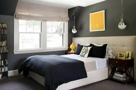 Paint Color Schemes For Bedrooms With Dark Brown Wood Bedside Tables. Home  U203a Bedroom U203a How To Paint A Bedroom Wall U203a ...