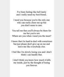Losing A Best Friend Tumblr