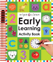 wipe clean early learning activity book wipe clean early learning activity books book at low s in india wipe clean early learning