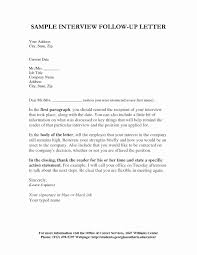 Interview Followup Email Template Luxury Example Follow Up Email