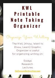 Kwl Chart Graphic Organizer Printable Graphic Organizer Kwl Chart Know What To Know Learn